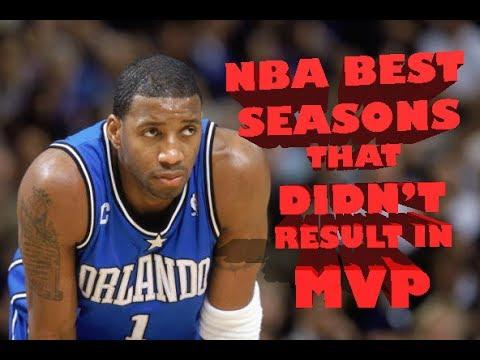 NBA Top 10 Best Seasons that Didn