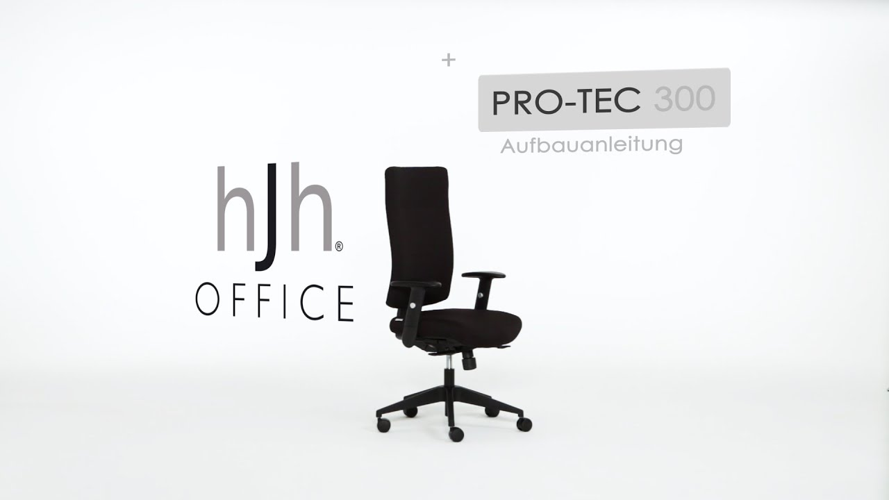 Demontage Gasfeder Hjh Office Pro Tec 300 Aufbauvideo Hjh Office