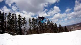 Spring Snow Slidin