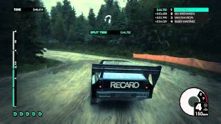 Audi Quattro S1 Rally - Dirt 3 gameplay PC HD Ultra settings gtx 560 Fps above 47  Rain