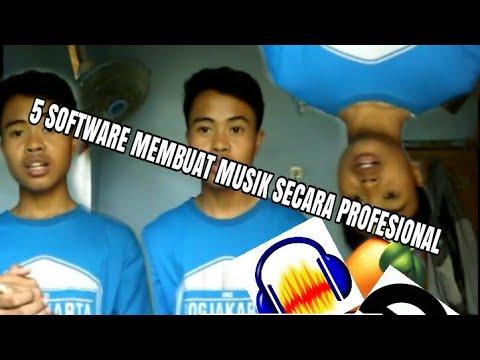 5 Software terbaik Untuk Membuat Musik Instrumental ( Versi 51 Prod)