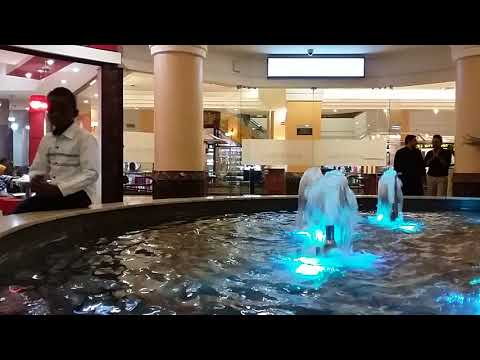 Water that 'changes color' at Acacia Mall in Kampala. Amateur video by Edgar R. Batte