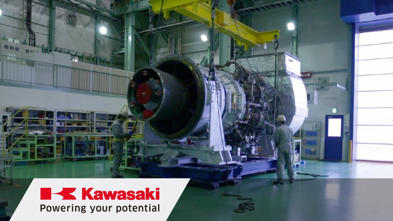 Industrial Gas Turbines | Kawasaki Heavy Industries