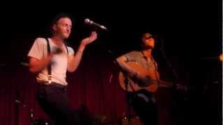 The Lumineers- Slow It Down- Hotel Cafe 3/23/12