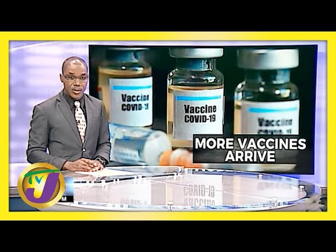 Jamaica Receives Another 55,200 Doses of Vaccines   TVJ News