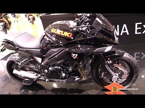 Suzuki Katana Akrapovic Exhaust - Walkaround - Debut at  EICMA Milan