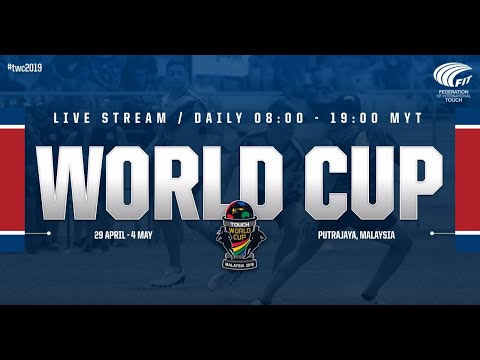 Fiji vs Papua New Guinea, Mixed Open, Round 3 | Touch World Cup 2019