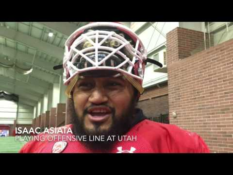 Isaac Asiata Wins 2016 Morris Trophy (The Salt Lake Tribune)