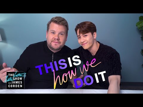Jackson Wang & James Corden Trade Food, Language & Sport