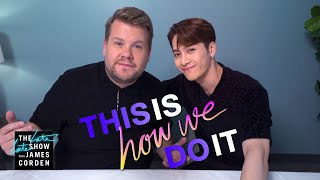 Download lagu Jackson Wang James Corden Trade Food Language Sport