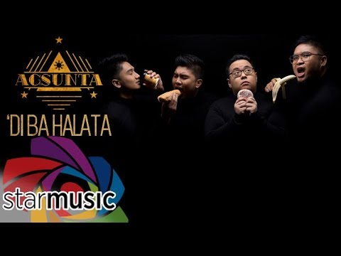 Agsunta - 'Di Ba Halata (Official Lyric Video)