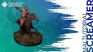 ASOIAF TMG Painting Tutorial 02 - Dothraki Screamer [Deutsch]