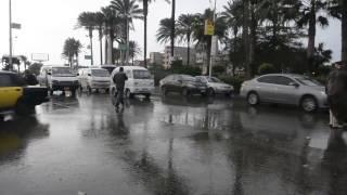 بالفيديو.. محافظة الإسكندرية تعمل بأقصى جهدها لمواجهة أزمات الأمطار