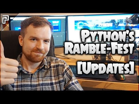 🐍 Python's Ramble Fest (Yogscast! Updates & Plans For 2018! ALL Channels Merging!)