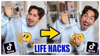 Download We TESTED Viral TikTok Life Hacks.... (SHOCKING) *PART 4* Mp3 and Videos