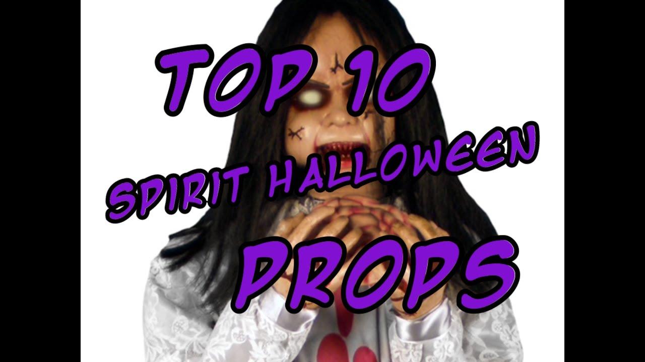 top 10 spirit halloween props youtube - Spirit Halloween Props