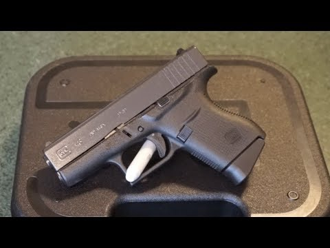 Glock G43 Tabletop review.  Should you buy one?