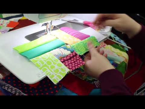 Improv Piecing Tutorial: With Scraps!