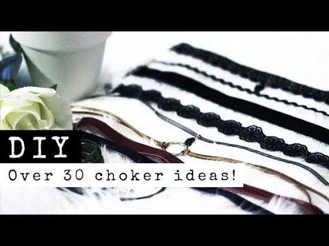 DIY Chokers | 6 Styles! Over 30 Variations! Bolo Wrap, Minim