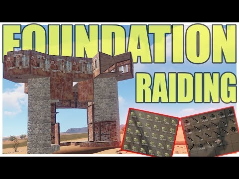 100% FOUNDATION WIPING OUR NEIGHBOURS | Vanilla Rust thumbnail