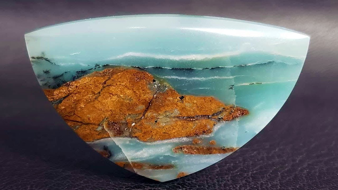 BC Ocean Picture Stone!