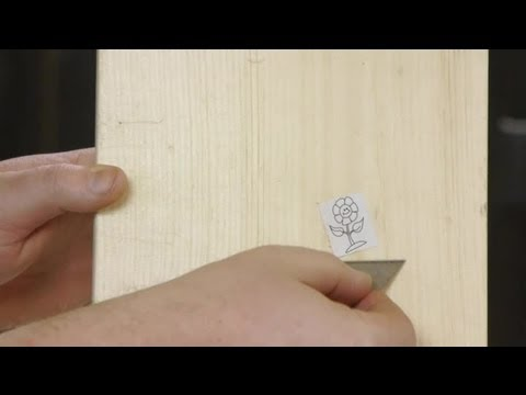 how to remove a sticker from your unfinished wood woodworking tips youtube. Black Bedroom Furniture Sets. Home Design Ideas