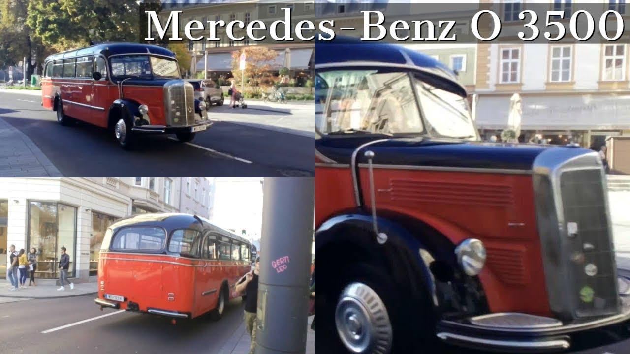 Linz Mercedes Benz O 3500 Oldtimer Bus Sab Tours Youtube