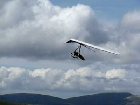 Hang Gliding Glenshee, Scotland, 04/07/09
