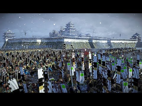 This Siege Battle Is All Or Nothing! Outnumbered 2 To 1 - Total War: Shogun 2