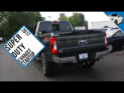 2017 Ford Super Duty StartUp Exhaust Engine Sound