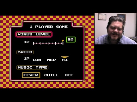 Dr. Mario Level 20 Hi 2nd Attempt   VGHI Play 'n' Chat Live Stream