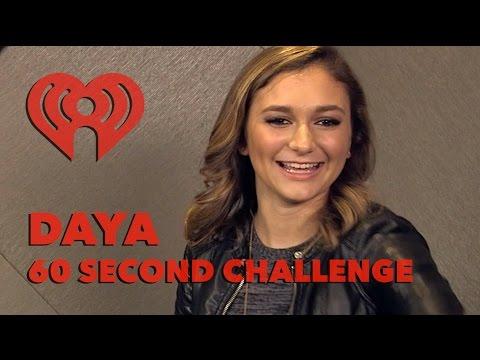 """Daya - """"60 Second Challenge"""" Interview - Artist Challenge - 동영상"""