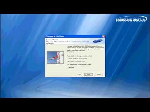 Samsung Ml 1640,driver Install