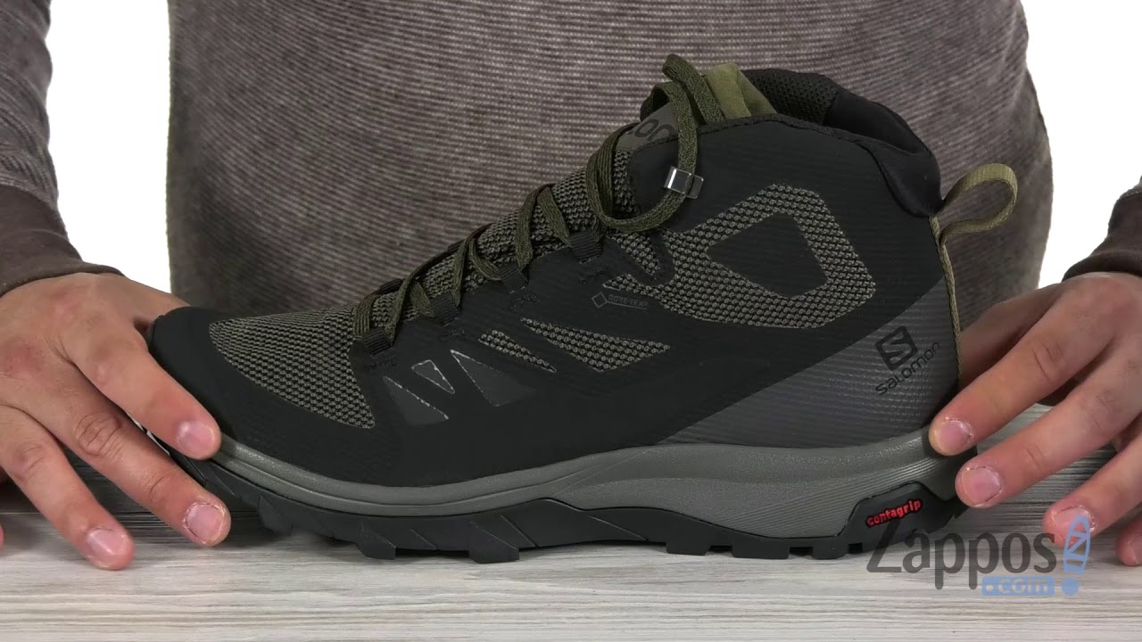 salomon outline gtx gore-tex hiking boots fitti