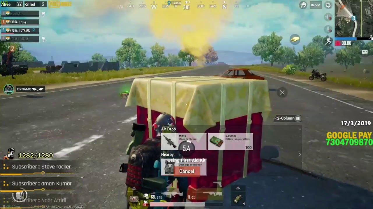 Best Sniper shot dynamo gameing