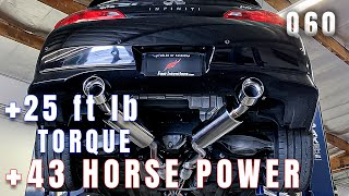 fast intentions infiniti twin turbo q60 exhaust is here