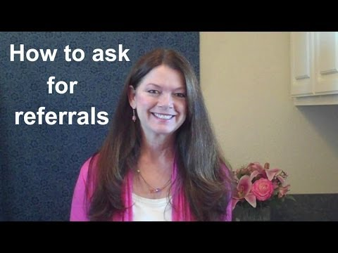 Friday Morning Motivation 1-17-14. How to ask for referrals