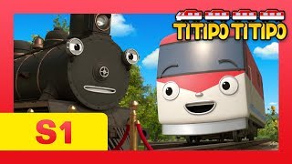 Çocuklar için TİTİPO S1 EP21 l Buhar Yeni İş l Treni Çizgi film TİTİPO TİTİPO l