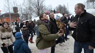 Флэшмоб на Масленицу в Тучково