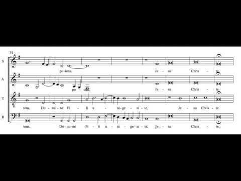 Janequin Missa La Bataille - Gloria