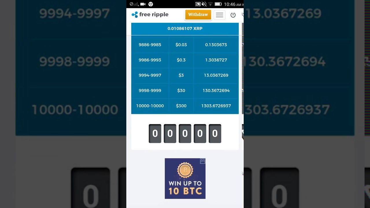 earn free ripple (xrp) easiest way to get free ripple coins 2017 - YouTube