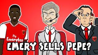 PEPE SOLD?! Emery wants his money back! (Nicolas Pepe Advert Parody FreeKicks Europa League)