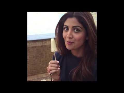 Shilpa Shetty Eating Malai Kulfi Sunday Masti