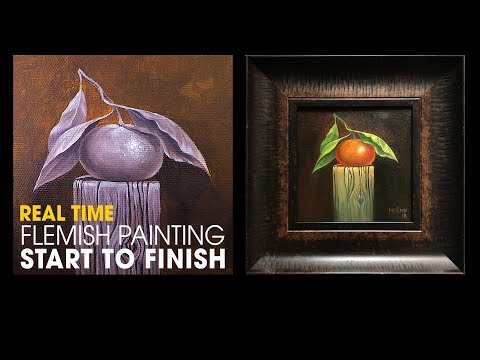 The Oil Painting Techniques tutorial series – Flemish – Old master inspired