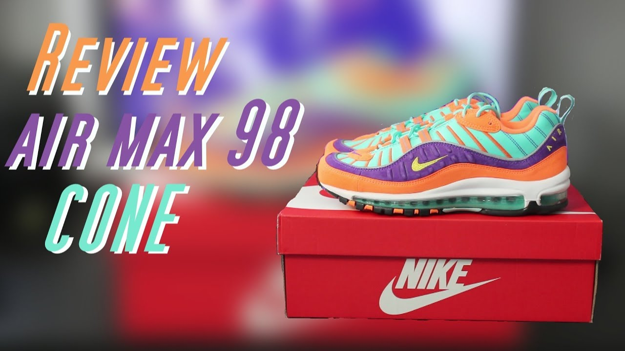 f057400b714c Review  AIR MAX 98 QS CONE - YouTube