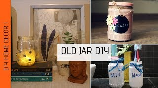 How to use old jars ? | DIY Old Jar Home Decor Ideas | Zero Budget Decor Ideas | DIY Mason Jar Decor