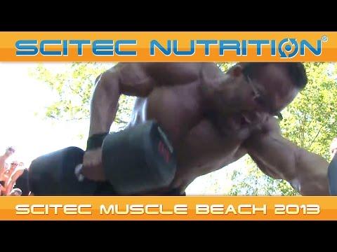 SCITEC MUSCLE BEACH 2013 - Egy hardcore vasárnap délután!