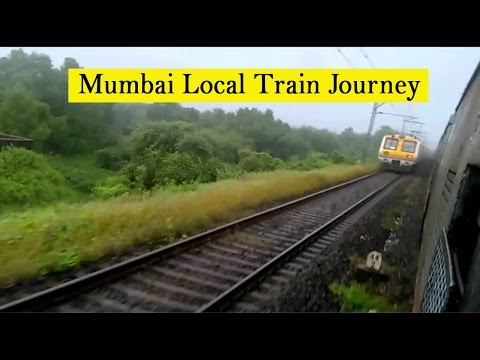 Mumbai Local Train Journey