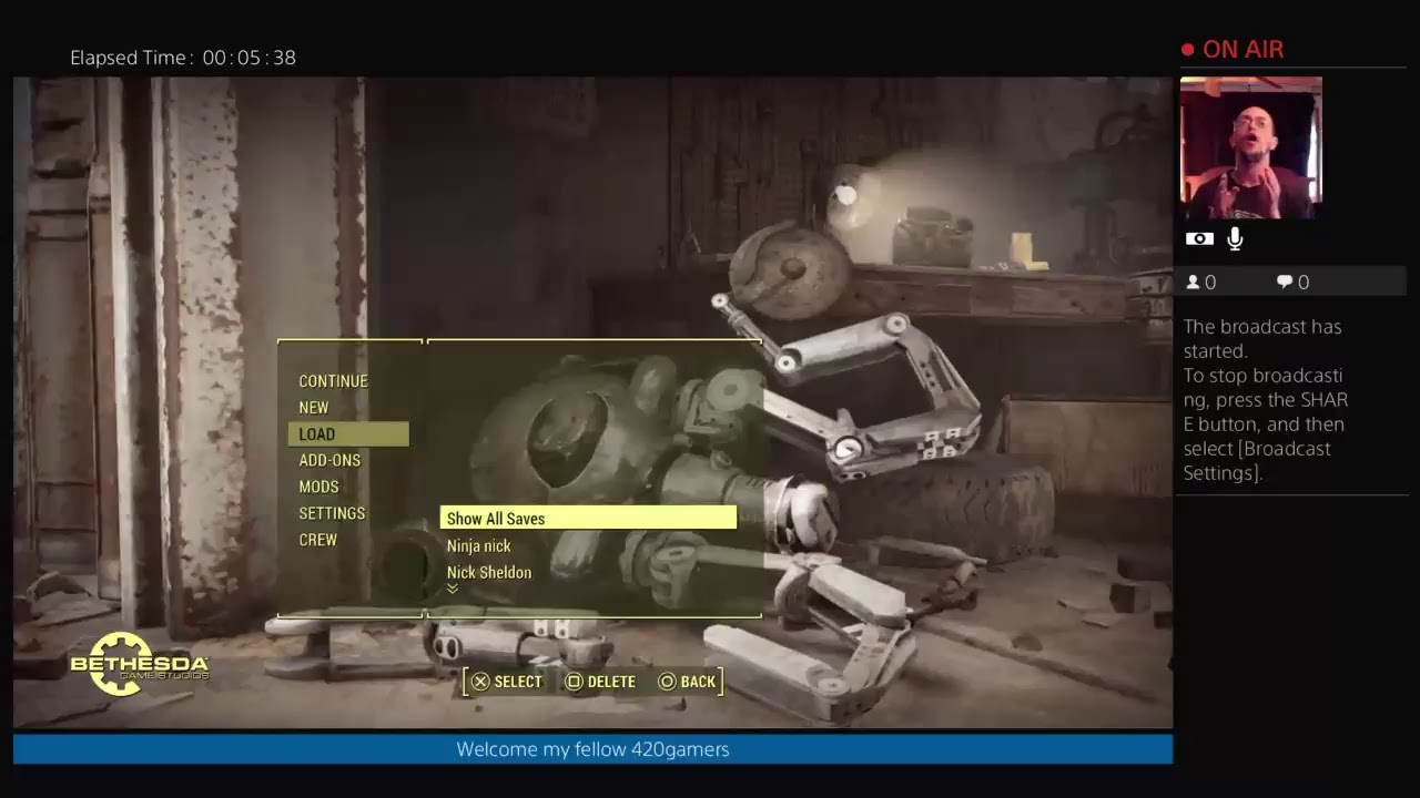 How to create multiple save files on fallout 4 and skyrim