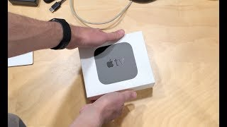 Apple TV 4k Unboxing and Setup Process